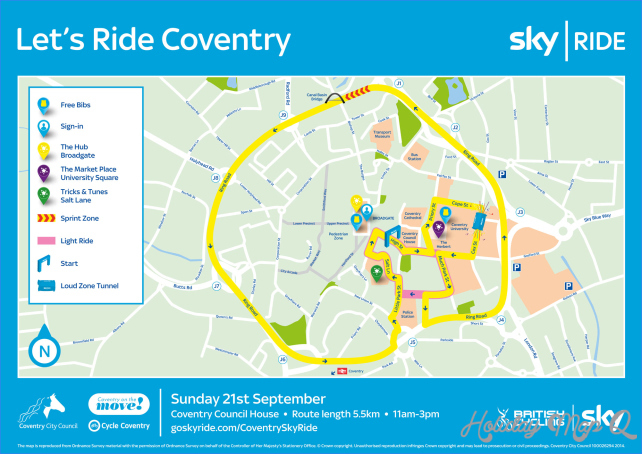 Sky Ride Coventry - Heart West Midlands