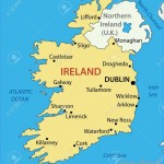 Republic Of Ireland - Map Royalty Free Cliparts, Vectors, And Stock