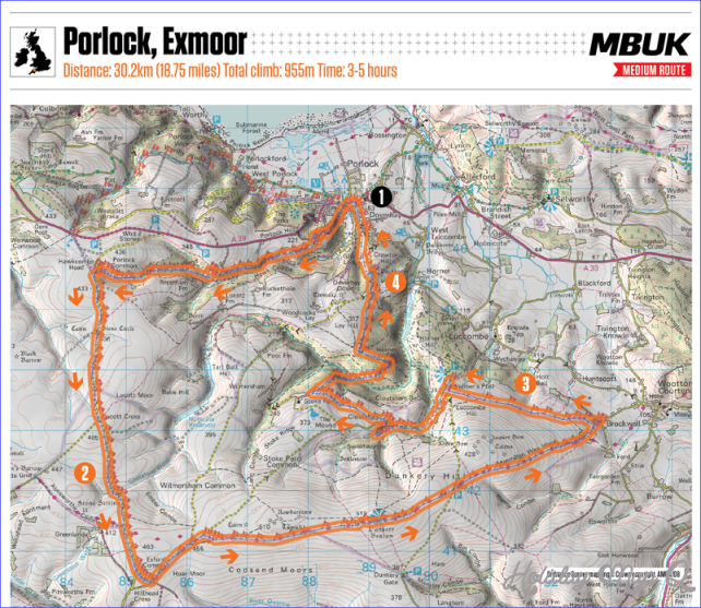 MBUK Big Ride: Porlock, Exmoor