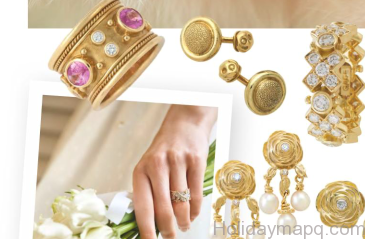 Will it be embellished earrings to draw attention to your wedding gown?