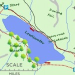 map of loweswater lake