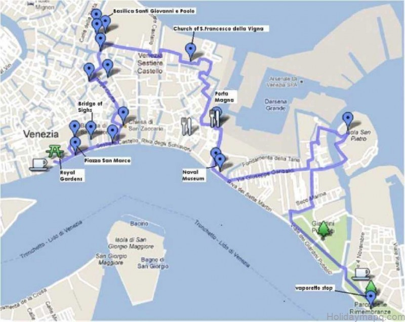 map of venice venice best things to do