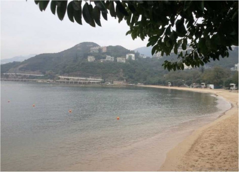 map of deep water bay beach hong kong 1