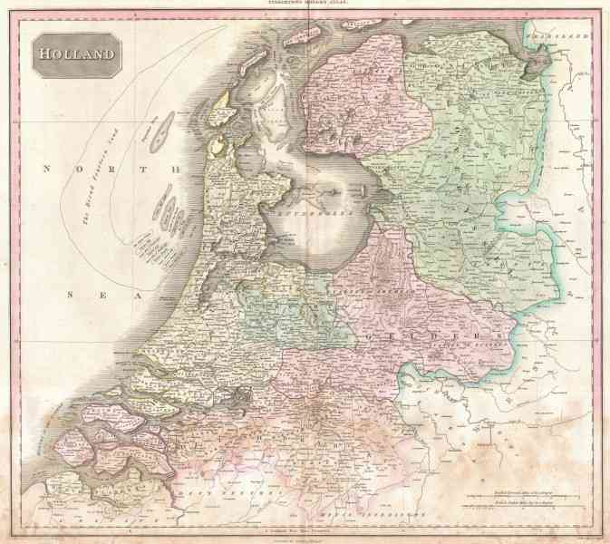 a map of holland 135 A Map Of Holland