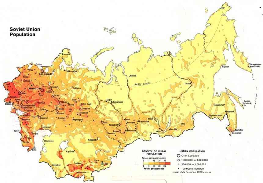 a map of russia 255 A Map Of Russia