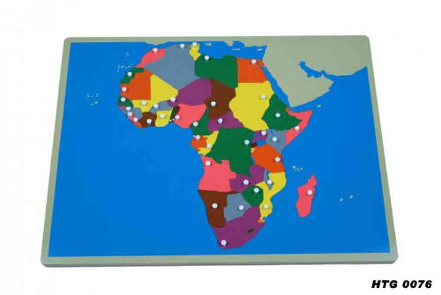 africa map puzzle 9 Africa Map Puzzle