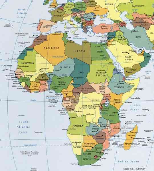 africa map puzzle 124 Africa Map Puzzle