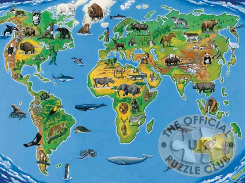 africa map puzzle 795 Africa Map Puzzle