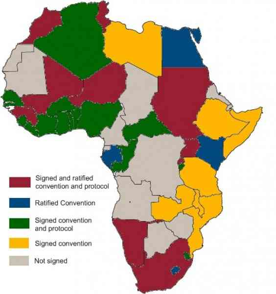 africa resources map 8 Africa Resources Map
