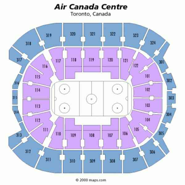 Air Canada Centre Seating Chart Seat Numbers Amber Indian