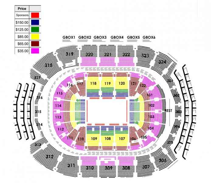 air canada centre seating map. Black Bedroom Furniture Sets. Home Design Ideas