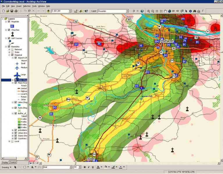 arcview map 8 Arcview Map