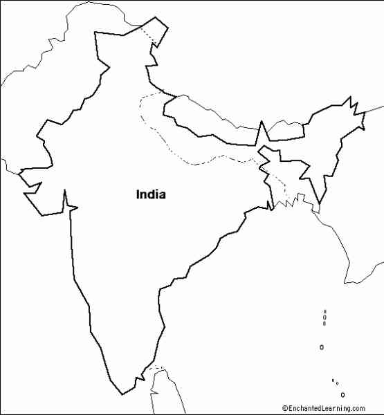 asia outline map 236 Asia Outline Map
