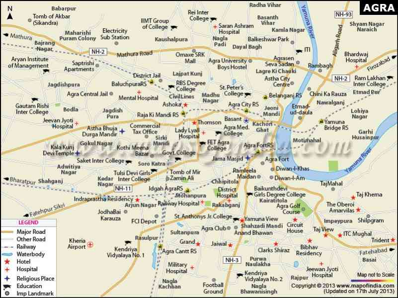 Bhopal City Map HolidayMapQcom