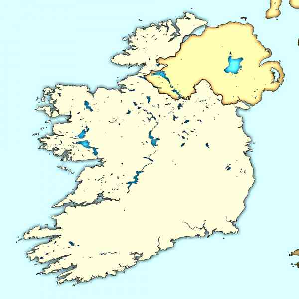 blank map of ireland 409 Blank Map Of Ireland