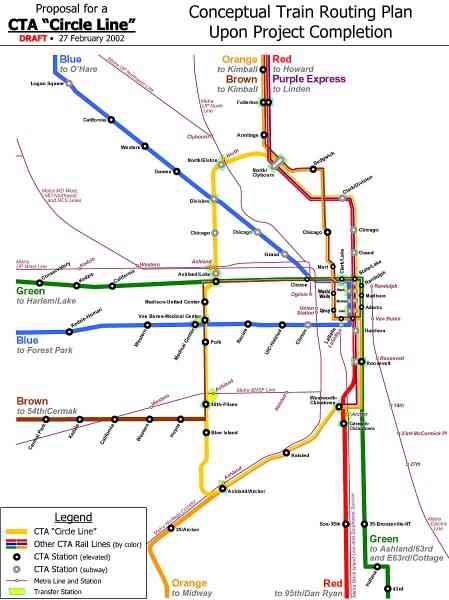 blue line cta map 196 Blue Line Cta Map