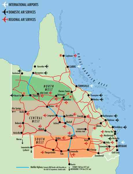 brisbane qld map 7 Brisbane Qld Map