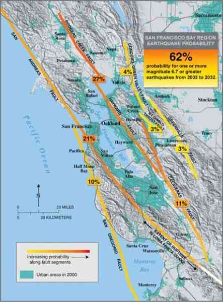 ca earthquake map 5 Ca Earthquake Map