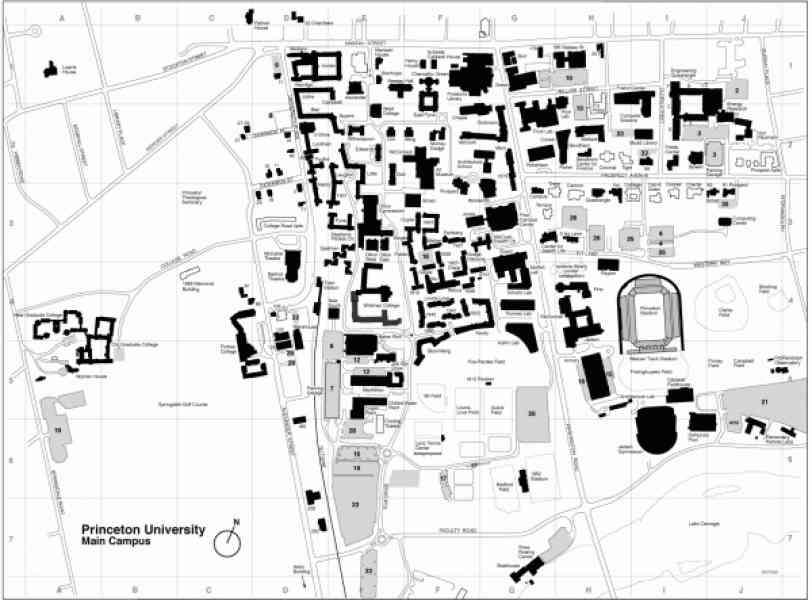 campus map american university 385 Campus Map American University