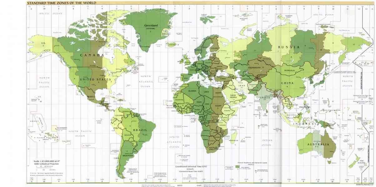 Canada Map With Latitude And Longitude Map Holiday Travel - Us map with longitude and latitude lines