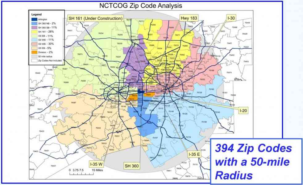 Charlotte Zip Code Map - HolidayMapQ.com