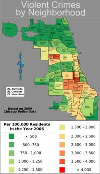 chicago crime map 399 Chicago Crime Map