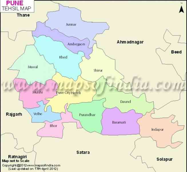 city map of pune 189 City Map Of Pune
