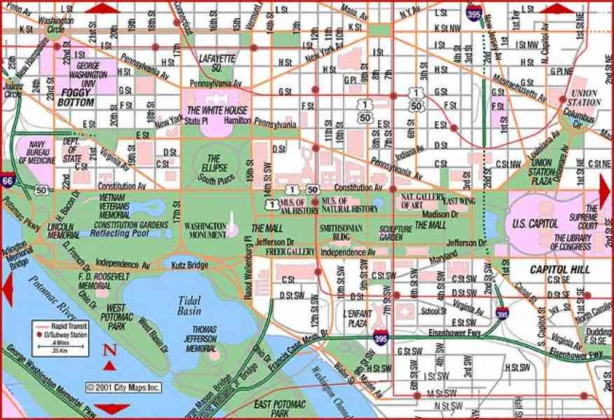 Washington Dc Airports Maps And 28 Images Map Of