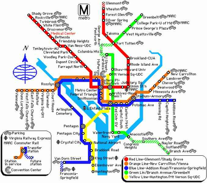 Pentagon City Metro Map