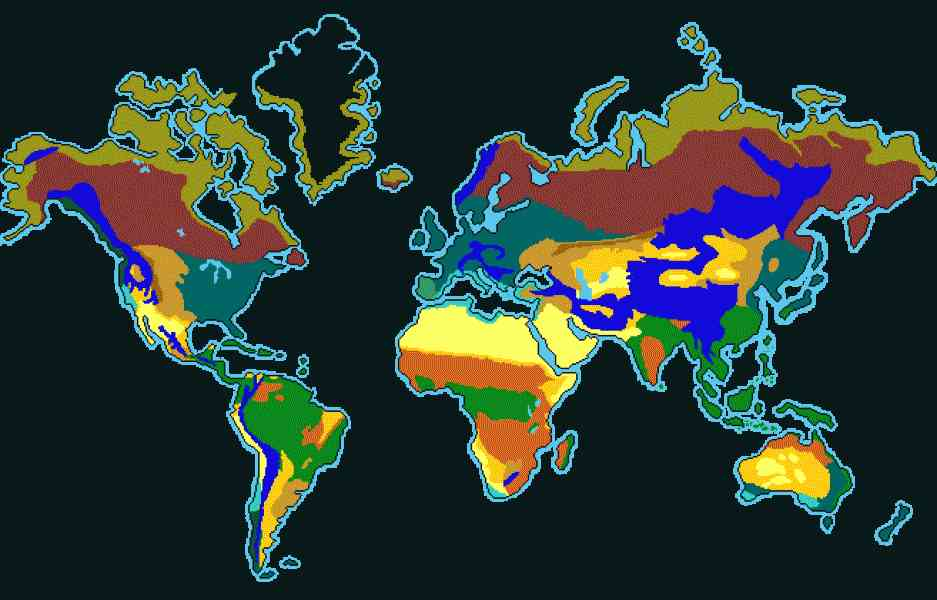 Desert map of the world holidaymapq desert map of the world gumiabroncs Images
