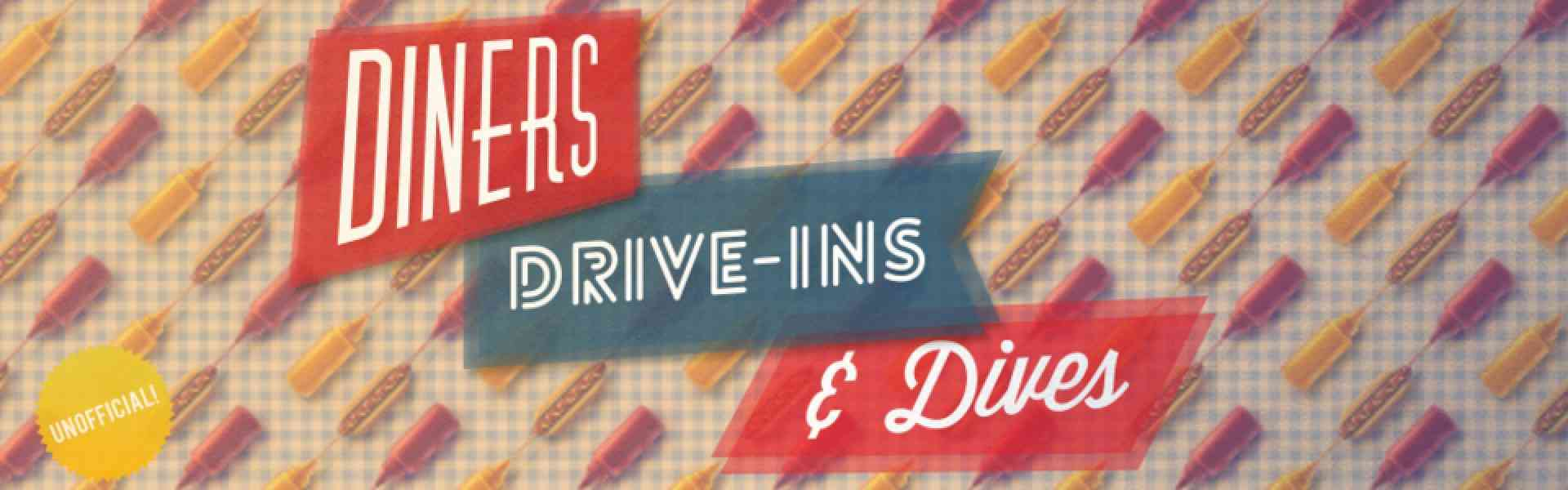 diners drive ins and dives map 539 Diners Drive Ins And Dives Map