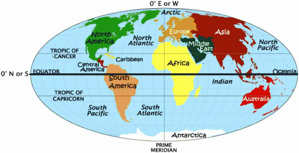 Eastern Hemisphere Map - map of the eastern hemisphere 1 ...
