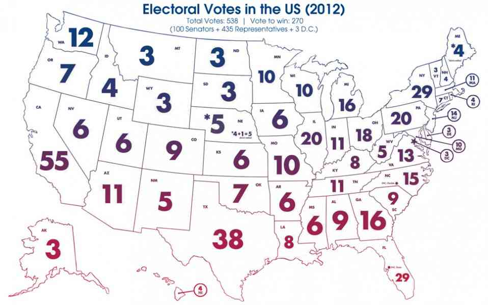April Rhetoric Civic Life II Civic Issues - Map of us without electoral college 2016