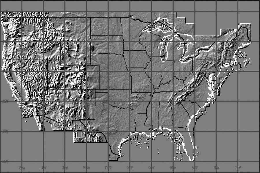 elevation map of us 226 Elevation Map Of Us