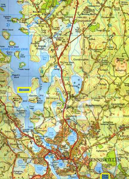 enniskillen map 379 Enniskillen Map