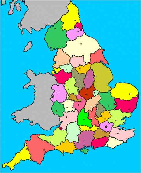 essex map of england 10 Essex Map Of England