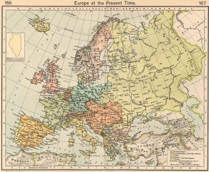 europe map history 7 Europe Map History