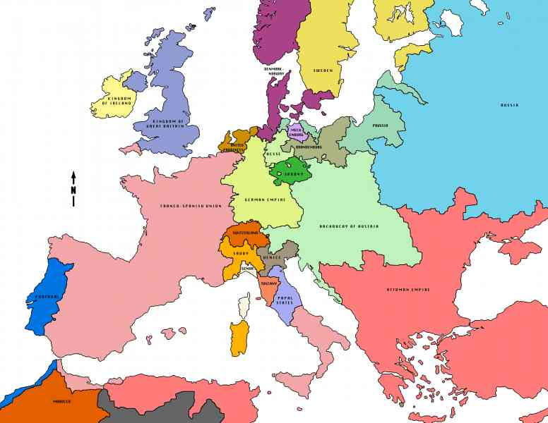 europe map history 105 Europe Map History