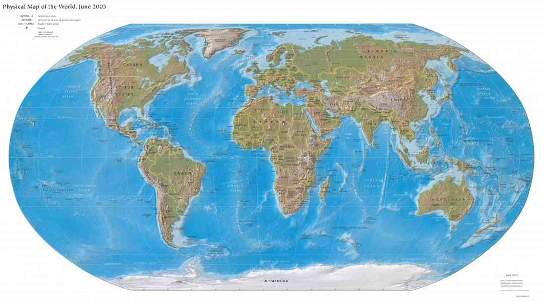 Flat Globe Map Map Holiday Travel HolidayMapQcom - Us flat map