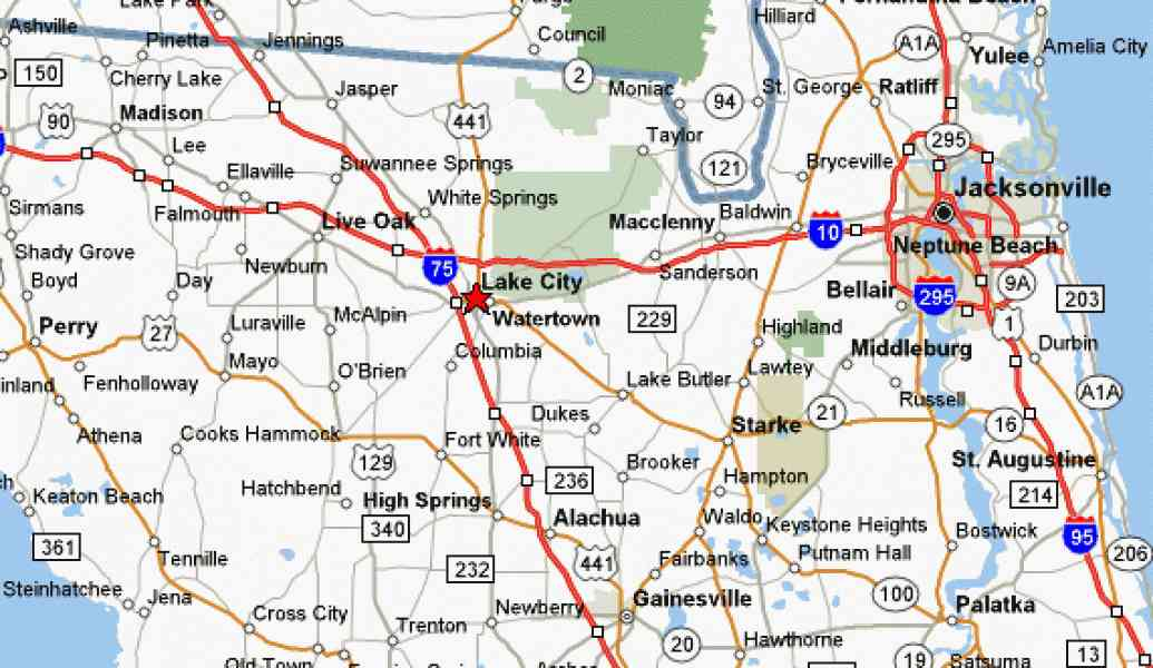 Florida City Map Map Holiday Travel HolidayMapQcom - Map of cities in florida