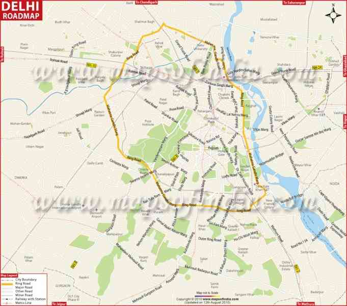 free map of delhi 379 Free Map Of Delhi
