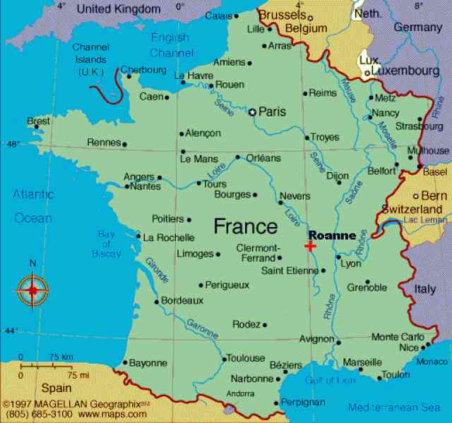 french revolution map 169 French Revolution Map