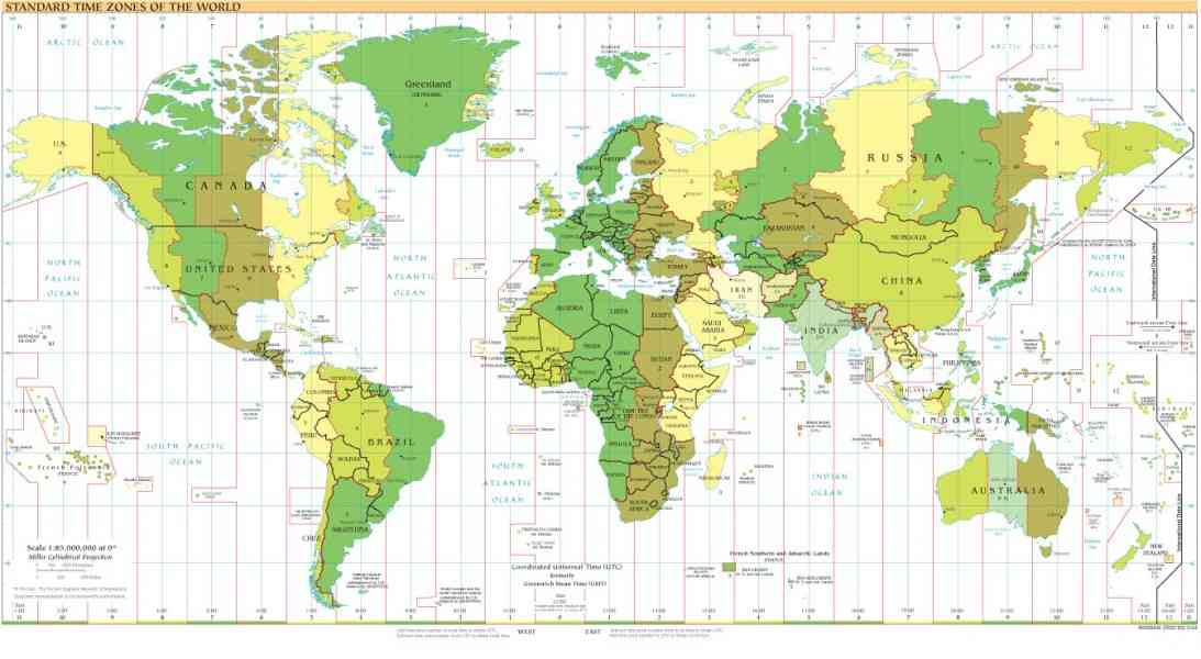 geographic map of world 69 Geographic Map Of World