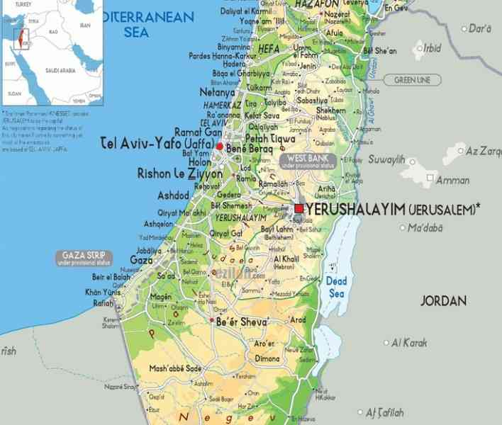 google maps israel english 184 Google Maps Israel English