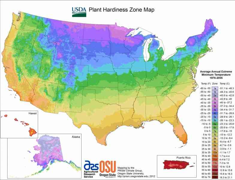 growing zone map 196 Growing Zone Map