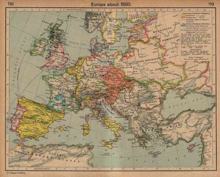 historical map of europe 2 Historical Map Of Europe