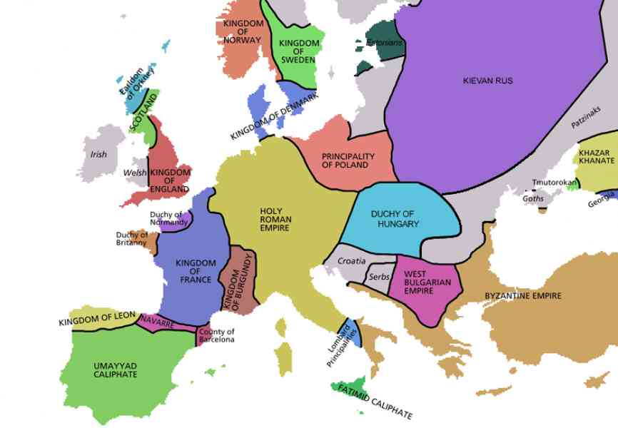 historical map of europe 242 Historical Map Of Europe