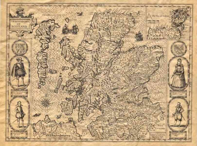 historical map of scotland 247 Historical Map Of Scotland