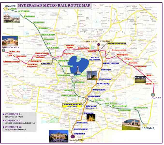 Hyderabad to srisailam route map holidaymapq hyderabad to srisailam route map altavistaventures Gallery