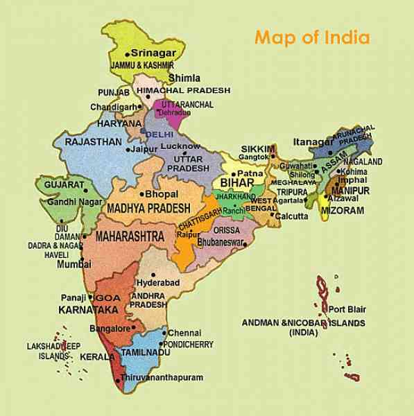 india map chennai